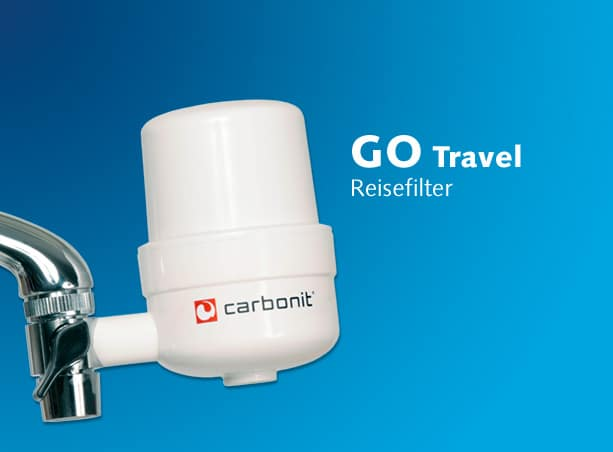 carbonit travel go reisefilter g nstig kaufen wasserhelden net. Black Bedroom Furniture Sets. Home Design Ideas