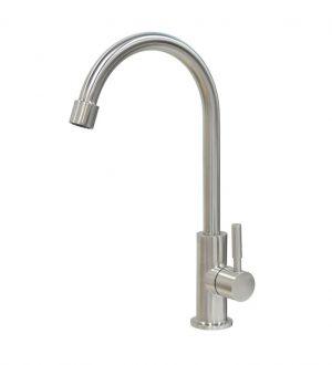 Wasserhahn Alba-2 aus Edelstahl