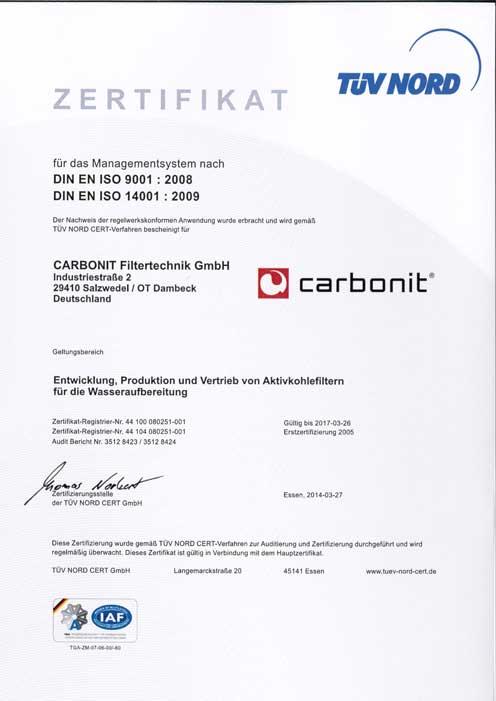 Carbonit GO Travel Bedienanleitung