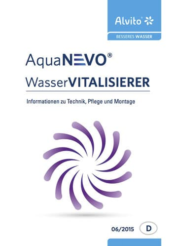 AquaNevo Broschuere Wasservitalisierer