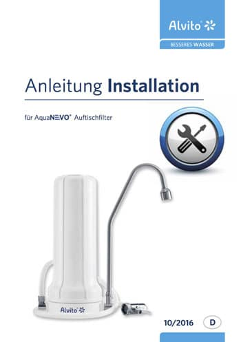 AquaNevo Installationsanleitung Auftischfilter