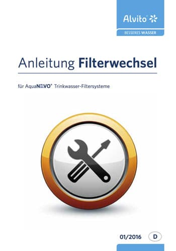Aquanevo Anleitung Filterwechsel