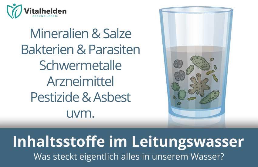 Inhaltsstoffe im Trinkwasser