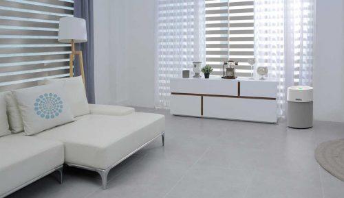 Ideal Luftreiniger AP40 Pro im Wohnzimmer premium