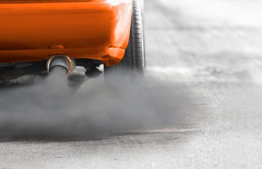 Feinstaubbelastung durch Verbrennungsmotoren