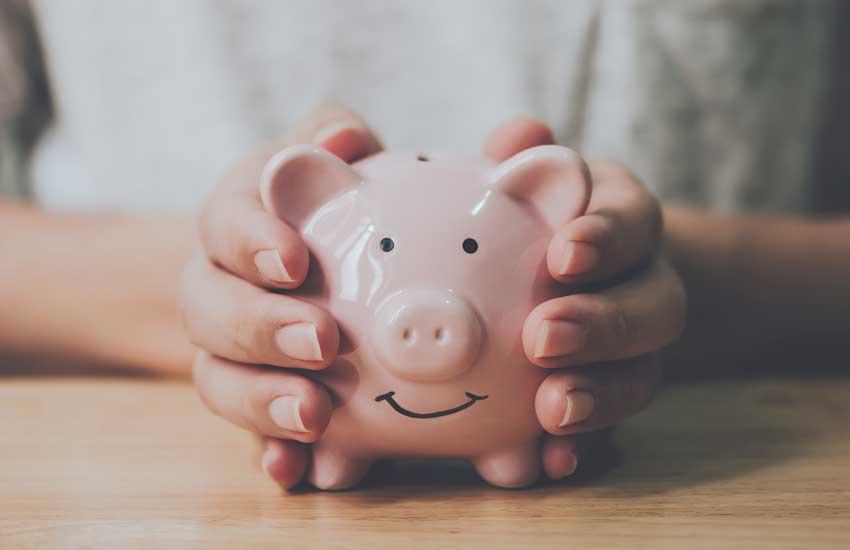 Geringe Betriebskosten schonen das Sparschwein