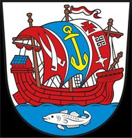 Trinkwasser und Wappen Bremerhaven