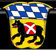 Trinkwasser und Stadtwappen Freising