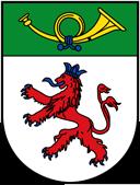 Trinkwasser und Stadtwappen Langenfeld