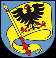 Trinkwasser und Stadtwappen Ludwigsburg