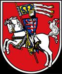 Trinkwasser und Stadtwappen Marburg