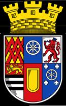 Trinkwasser und Stadtwappen Mülheim an der Ruhr