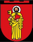 Trinkwasser und Stadtwappen Trier