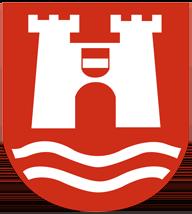 Trinkwasser und Wappen Linz