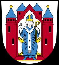 Trinkwasser und Wappen Aschaffenburg