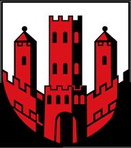 Trinkwasser und Wappen Dinslaken