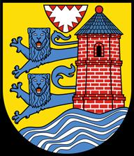 Trinkwasser und Wappen Flensburg