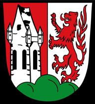 Trinkwasser und Wappen Germering