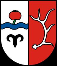 Trinkwasser und Wappen Hirschberg