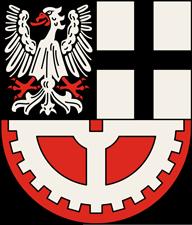 Trinkwasser und Wappen Hürth