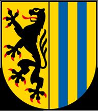 Wappen und Trinkwasser Leipzig