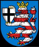 Trinkwasser und Wappen Marburg-Biedenkopf