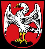 Trinkwasser und Wappen Markt Schwaben
