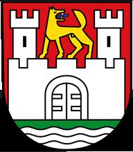 Trinkwasser und Wappen Wolfsburg